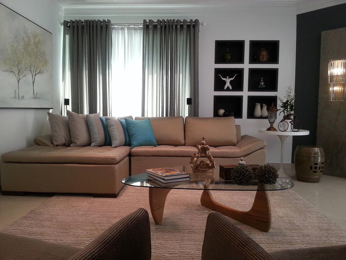 Sala De Estar E Jantar Apartamento Ambte Arquitetos Associados